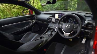 Lexus RC F Carbon Edition - cabin