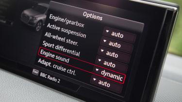 Audi SQ7 - screen