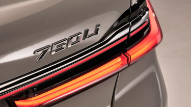 BMW 7 Series facelift - rear lights