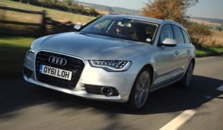 Audi A6 Avant front tracking