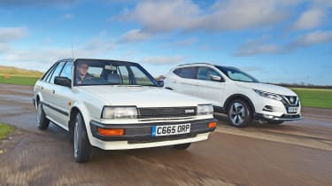 Nissan Bluebird vs Nissan Qashqai - head-to-head