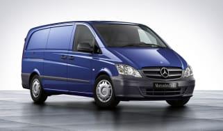Mercedes Vito front