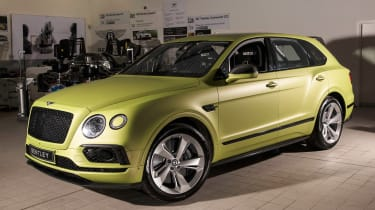 Bentley Bentayga Pikes Peak - front