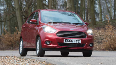 Ford Ka+ - front action