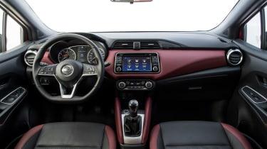 Nissan Micra 2017 petrol - interior