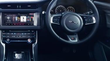 Jaguar XF S -interior
