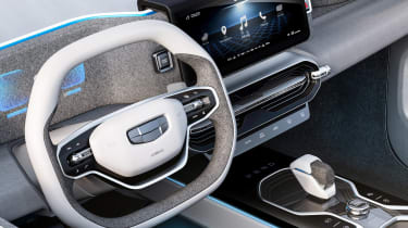 Geely Concept Icon - steering wheel