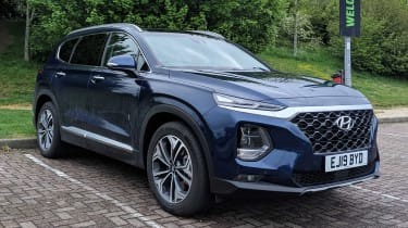 Hyundai Santa Fe long termer - second report header