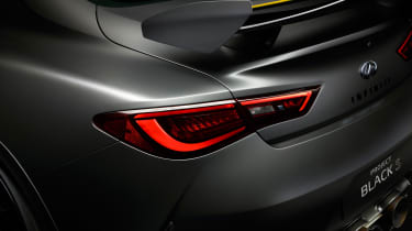 Infiniti Q60 Project Black S - rear detail