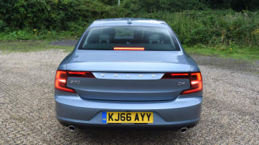 Volvo S90 long term test first report - full rear