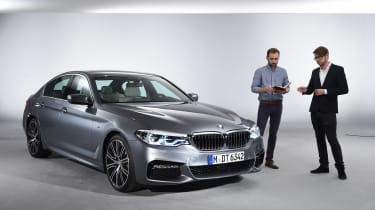 BMW 5 Series - studio interview