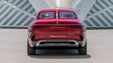 Vision Mercedes-Maybach Ultimate Luxury concept - full rear static