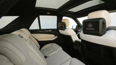 Mercedes ML63 AMG rear seats