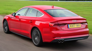 Twin test - Audi A5 - rear action