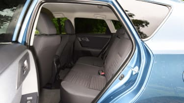 New Toyota Auris 2015 rear seats