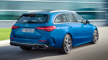 Mercedes C-Class Estate - rear action
