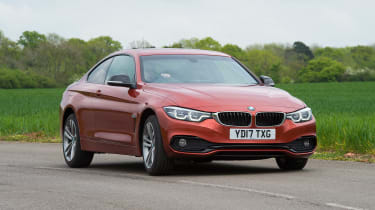 BMW 4 Series - front action