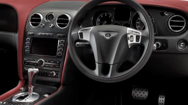 Bentley Continental Supersports coupe dash