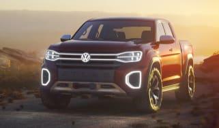 Volkswagen Atlas Tanoak concept - front