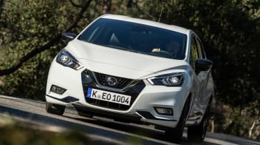 Nissan Micra N Sport - front cornering