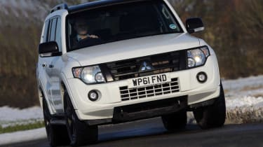 The Mitsubishi Shogun is a resolutely old-school 4x4.