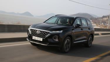 New Hyundai Santa Fe - front panning