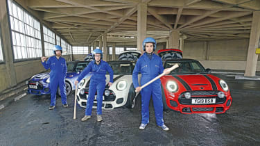 The Italian Job - group picture