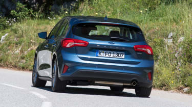 Ford Focus diesel Titanium - rear