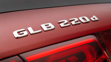 Mercedes GLB - GLB 200 d badge