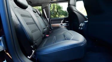 Mercedes-AMG G 63 - rear seats