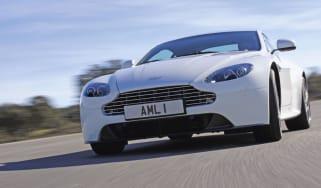 Aston Martin Vantage S front track