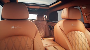 Bentley Mulsanne Extended Wheelbase Limited Edition - seats