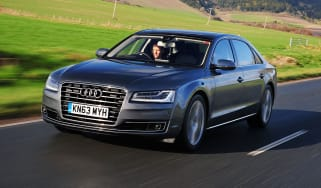 Audi A8 Front action
