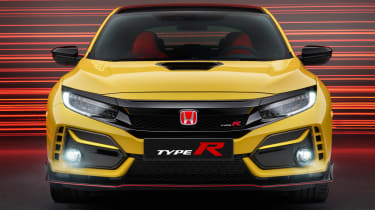 Honda Civic Type R Limited Edition - full front
