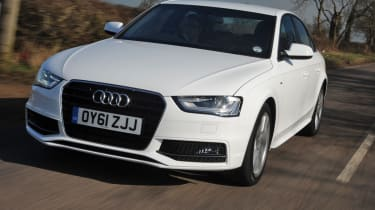 Audi A4 2.0 TDI S line front tracking