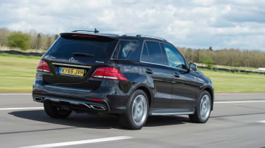 Mercedes GLE 350d - rear