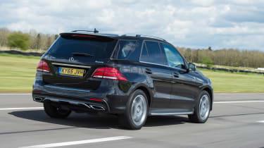 Mercedes GLE 350d - rear