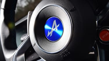 Alpine A110 Pure - steering wheel