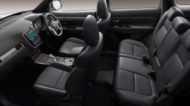 Mitsubishi Outlander PHEV - cabin