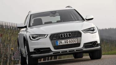 Audi A6 Allroad front three-quarters
