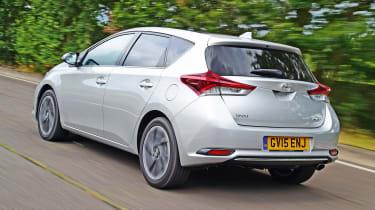 Toyota Auris - rear action
