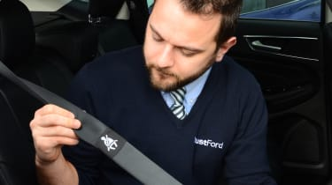 Long-term test review: Ford Edge - first report inflatable seatbelt