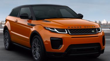 Car configurator overkill - Range Rover Evoque