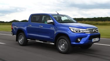 Used Toyota Hilux - front action