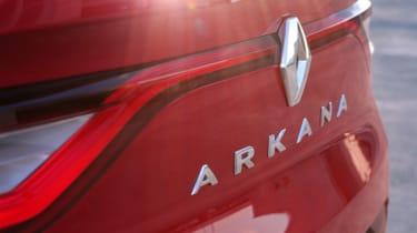 Renault Arkana boot lid
