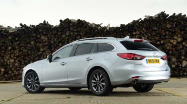 Mazda 6 Tourer rear static