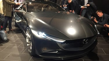 Mazda Vision Coupe concept - reveal front