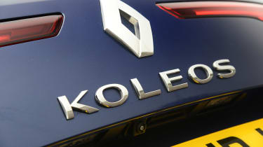 Renault Koleos - badge