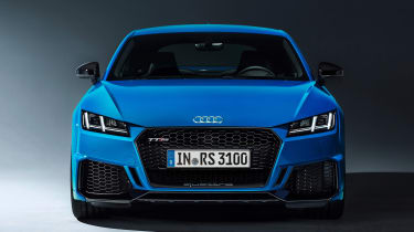 Audi TT RS Coupe - studio full front