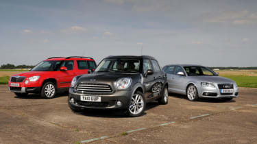 MINI Countryman vs Rivals